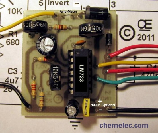 Voltage and Current Regulated Power Supply